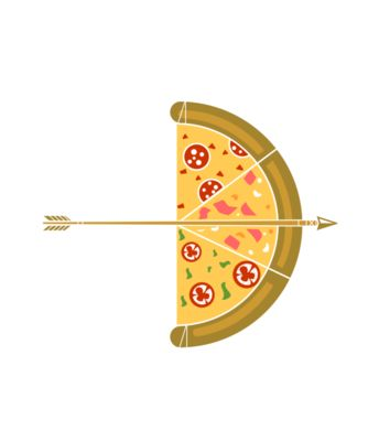 Arrow pizza