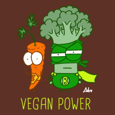 Camiseta Vegan Power (Adro) Design