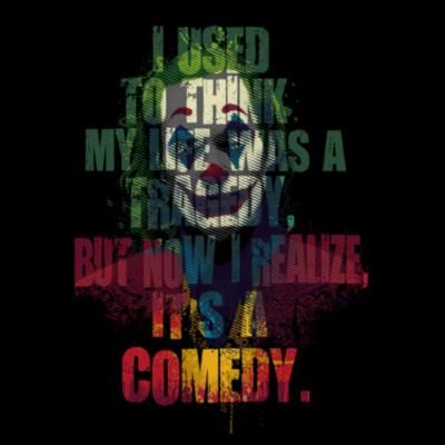 Tragedy Comedy by Andriu - Camisetas Personalizadas Mujer Design