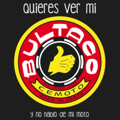 Camiseta Bultaco 2  (Paranoia Records) Design